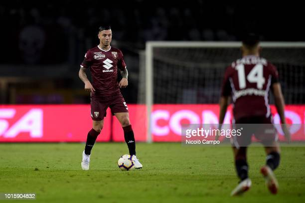 Armando Izzo of Torino FC in action during the TIM Cup football match between Torino FC and Cosenza Calcio Torino FC won 40 over Cosenza Calcio