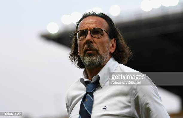 Armando Madonna head coach of FC Internazionale looks on during the Serie A Primavera Playoff Final match between FC Internazionale and Atalanta BC...