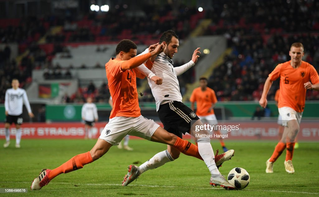 Armando Obispo Of Holland Challenges Levin Oeztunali Of Germany News Photo Getty Images