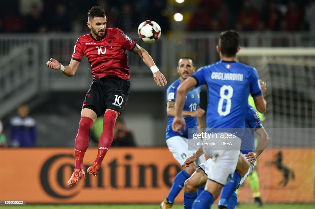 Albania v Italy - FIFA 2018 World Cup Qualifier