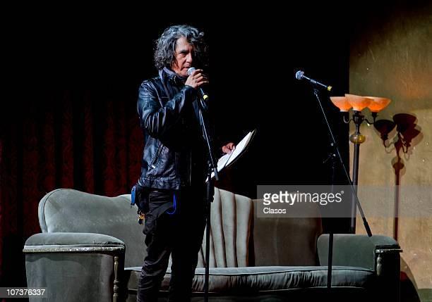 Armando Vega Gil performs during the Rita en El Corazon Concert at the Teatro de La Ciudad on December 06 2010 in Mexico City Mexico