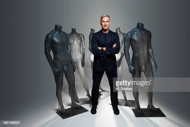 Armani Exchange president and CEO Harlan Bratcher is photographed for Out Magazine on October 1 2012 in New York City