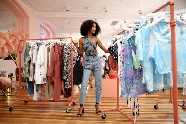 AUS: Celebrities Attend Boohoo Black Friday Gifting Suite