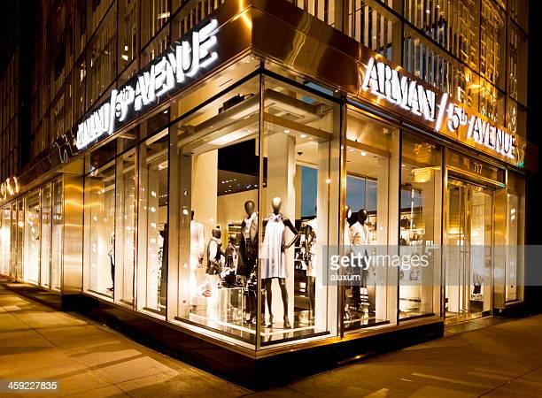 Armani magasins de la Cinquième Avenue à New York