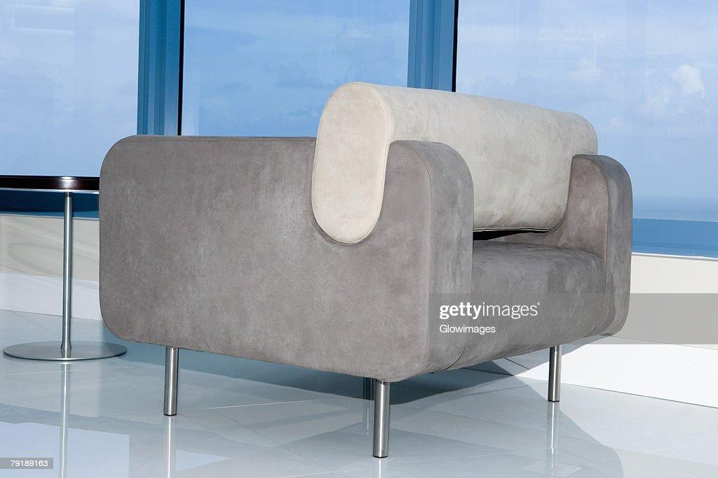 Armchair in a hotel : Foto de stock