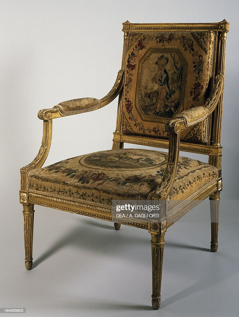 Genial Armchair With Jacob Furniture Stamp, Georges Jacob (1739 1814). France,