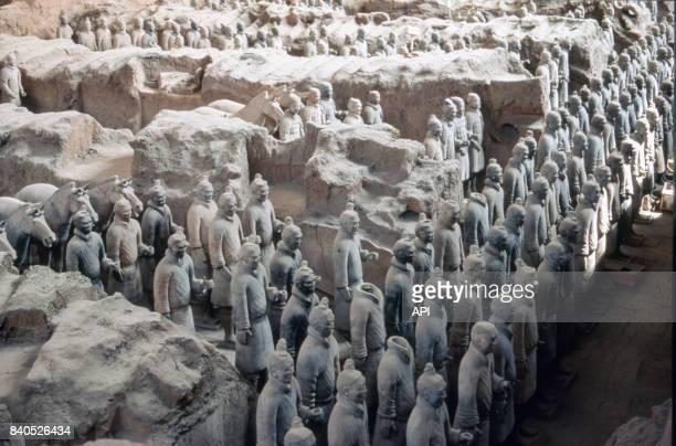 L'armée de terre cuite du mausolée de l'empereur Qin Chine