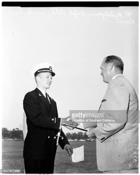Armed forces awards 29 May 1958 Cadet Colonel John C CooperRalph W Stoll Cadet Lieutenant Colonel Wallace M GillmanSally SaundersNancy ReaLinda...