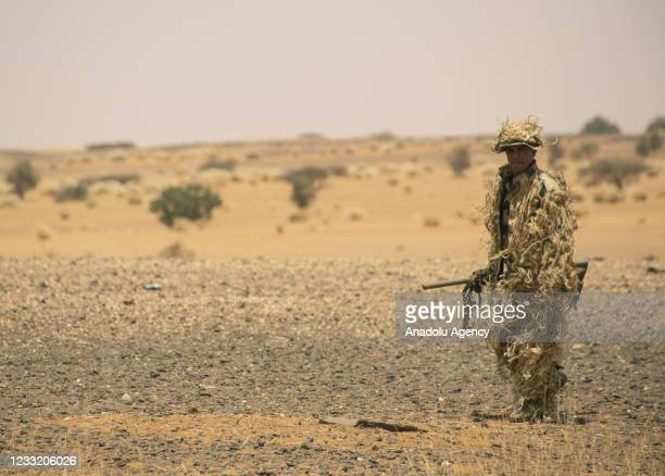Armed forces of Egypt and Sudan complete a joint military exercise in southern Kardavan province, Sudan on May 31, 2021.