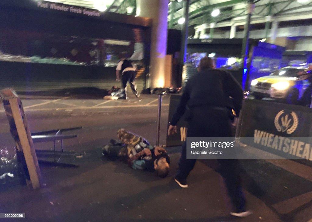 TOPSHOT-BRITAIN-ATTACKS : News Photo