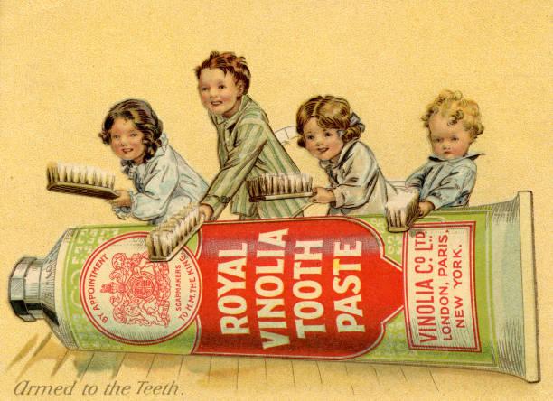 Royal Vinolia Toothpaste, 1910s.