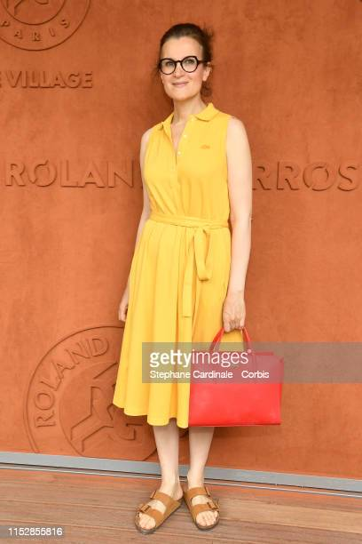 Armelle Lesniak attends the 2019 French Tennis Open Day Six at Roland Garros on May 31 2019 in Paris France