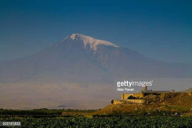 Armenia, in the back the Ararat mountain