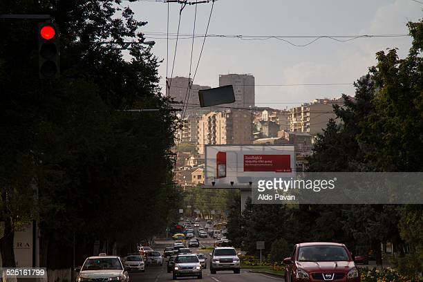Armenia, Yerevan, Sayat Nova Avenue