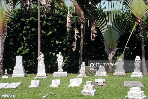 Armenian Apostolic Church of St Gregory the Illuminator The cemetery Singapore