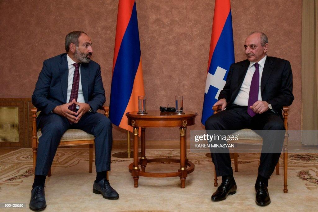 AZERBAIJAN-ARMENIA-KARABAKH-POLITICS : News Photo