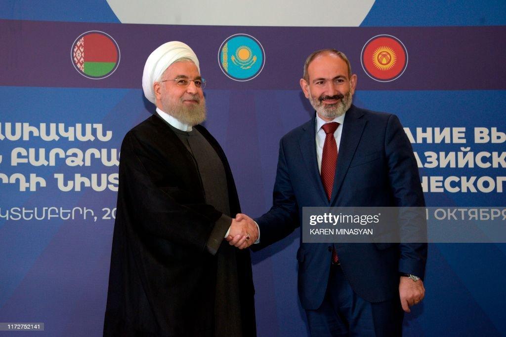 ARMENIA-IRAN-ECONOMY-COUNCIL-DIPLOMACY : News Photo