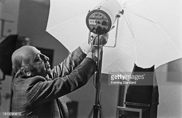 Armenian-Canadian photographer Yousuf Karsh , UK, 11th December 1973.