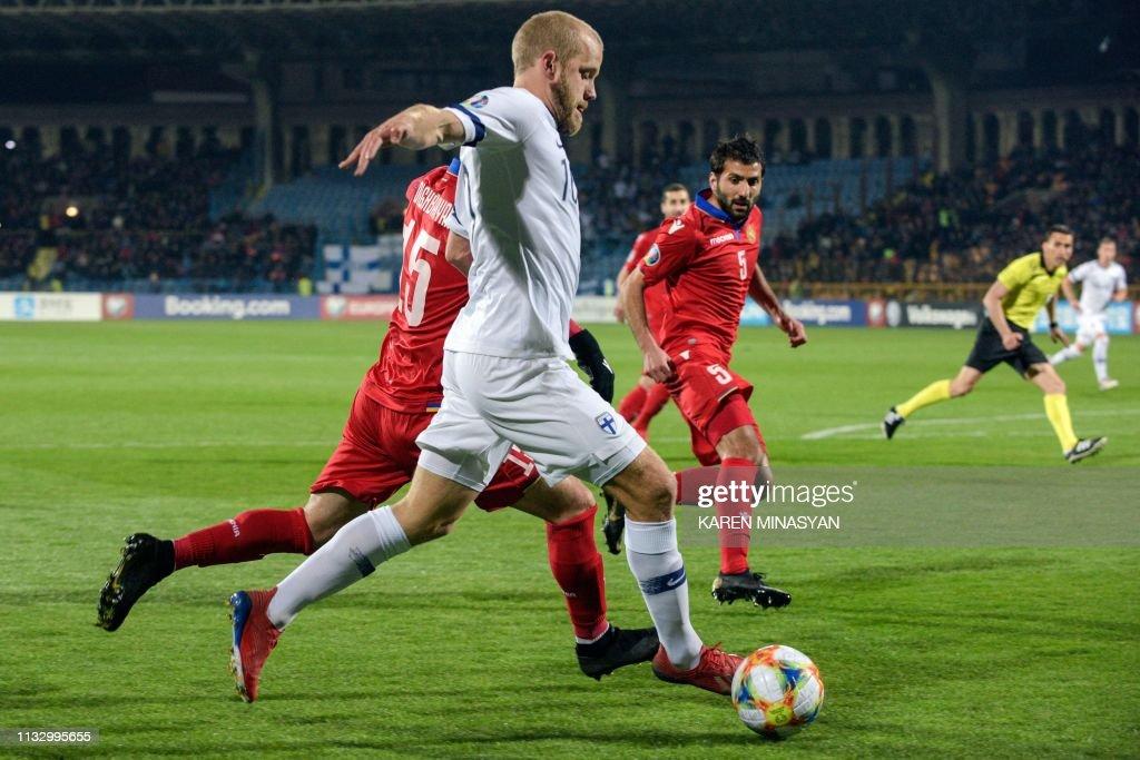 ARM: Armenia v Finland - UEFA EURO 2020 Qualifier