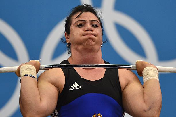 Armenia's Hripsime Khurshudyan competes Pictures | Getty ...