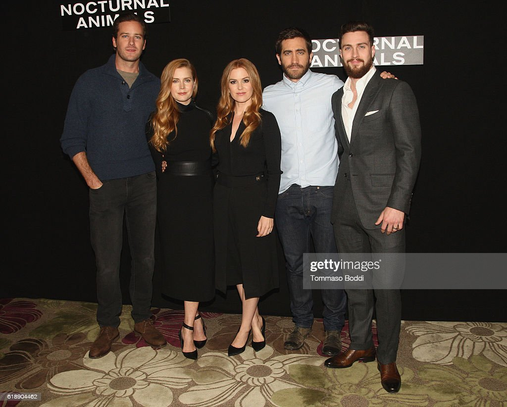 """Photo Call For Focus Features' """"Nocturnal Animals"""" : News Photo"""