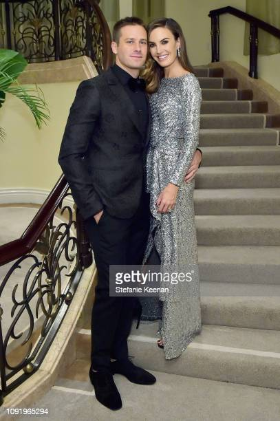 Armie Hammer and Elizabeth Chambers attend Learning Lab Ventures 2019 Gala Presented by Farfetch at Beverly Hills Hotel on January 31 2019 in Beverly...