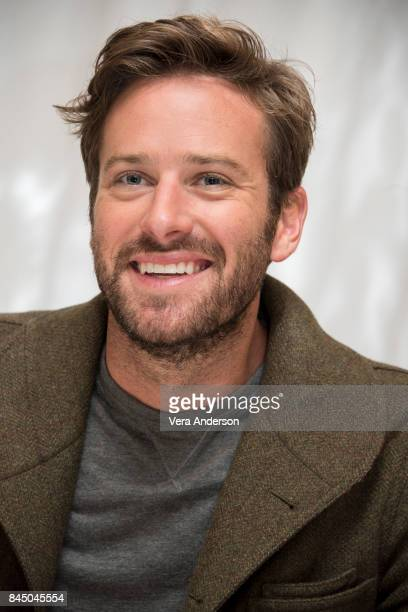 Armie Hammer at the 'Call Me by Your Name' Press Conference at the Fairmont Royal York Hotel on September 8 2017 in Toronto Canada