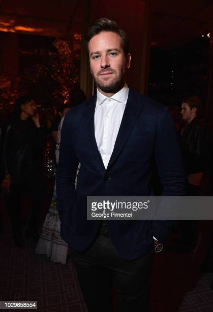 Armie Hammer attends 2018 HFPA and InStyle's TIFF Celebration at the Four Seasons Hotel on September 8 2018 in Toronto Canada