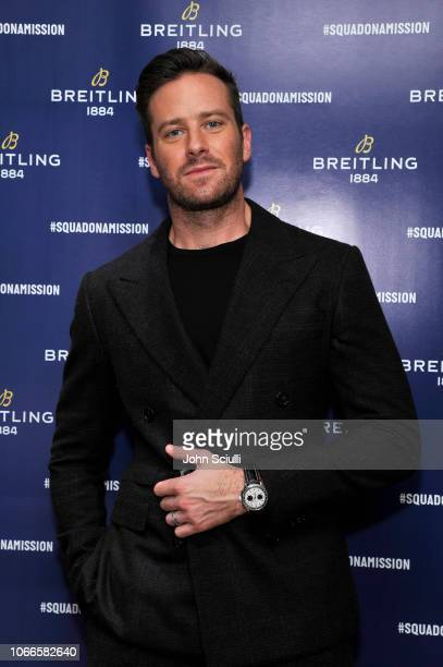 Armie Hammer attends Breitling Boutique Los Angeles welcomes Armie Hammer and Elivs Mitchell to unveil the allnew Breitling Premier Collection of...
