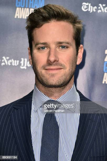 Armie Hammer attends IFP's 27th Annual Gotham Independent Film Awards at Cipriani Wall Street on November 27 2017 in New York City