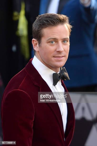 Armie Hammer attends the 90th Annual Academy Awards at Hollywood Highland Center on March 4 2018 in Hollywood California