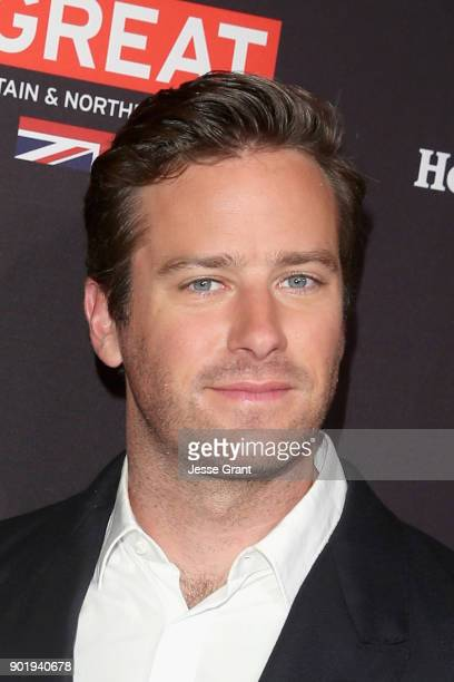 Armie Hammer attends The BAFTA Los Angeles Tea Party at Four Seasons Hotel Los Angeles at Beverly Hills on January 6 2018 in Los Angeles California