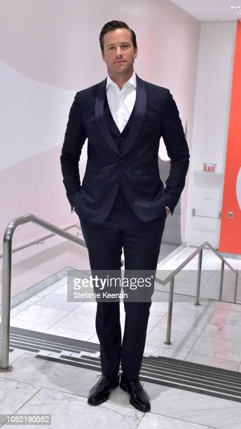 Armie Hammer attends the Hammer Museum 16th Annual Gala in the Garden with generous support from South Coast Plaza at the Hammer Museum on October 14...