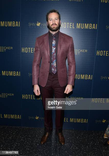 Armie Hammer attends the Hotel Mumbai New York Screening at Museum of Modern Art on March 17 2019 in New York City