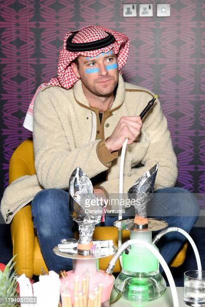Armie Hammer attends the MDL Beast Festival on December 19 2019 in Riyadh Saudi Arabia