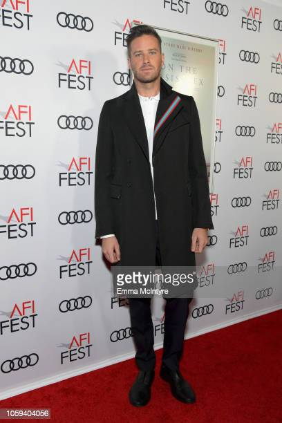 Armie Hammer attends the Opening Night World Premiere Gala Screening of 'On The Basis Of Sex' at AFI FEST 2018 Presented By Audi at TCL Chinese...