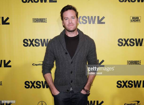 """Armie Hammer attends the premiere of """"Final Portrait"""" during SXSW at Stateside Theater on March 9, 2018 in Austin, Texas."""