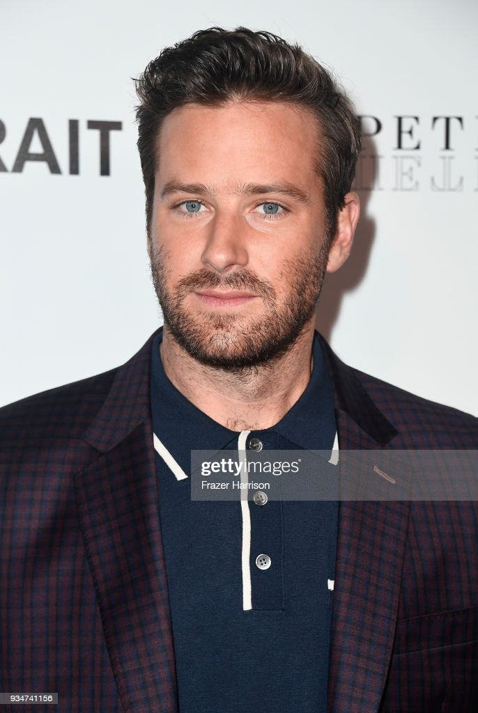Armie Hammer attends the premiere of Sony Pictures Classics' 'Final Portrait' at Pacific Design Center on March 19, 2018 in West Hollywood, California.