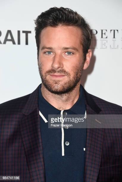 Armie Hammer attends the premiere of Sony Pictures Classics' Final Portrait at Pacific Design Center on March 19 2018 in West Hollywood California
