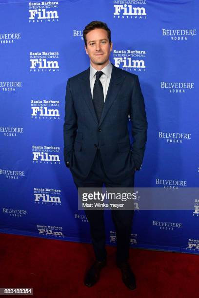 Armie Hammer attends the Santa Barbara International Film Festival honors Judi Dench with the annual Kirk Douglas Award for Excellence in Film at the...
