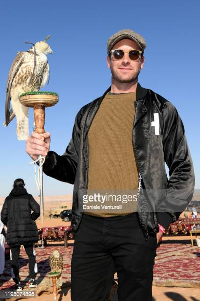 Armie Hammer attends the Sounds Of The Sands Desert Trip during the MDL Beast Festival on December 20 2019 in Riyadh Saudi Arabia