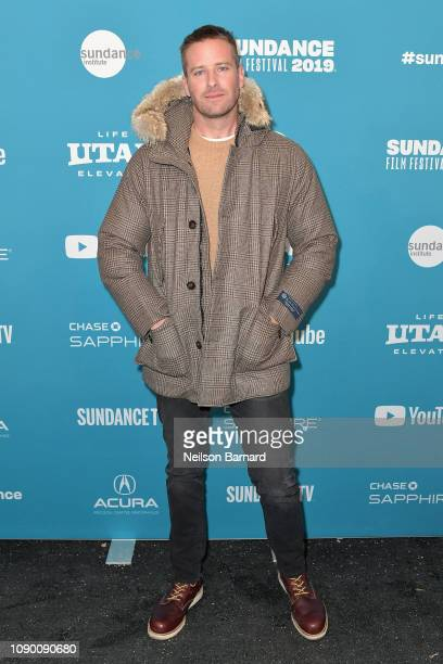 Armie Hammer attends the Wounds Premiere during the 2019 Sundance Film Festival at Eccles Center Theatre on January 26 2019 in Park City Utah