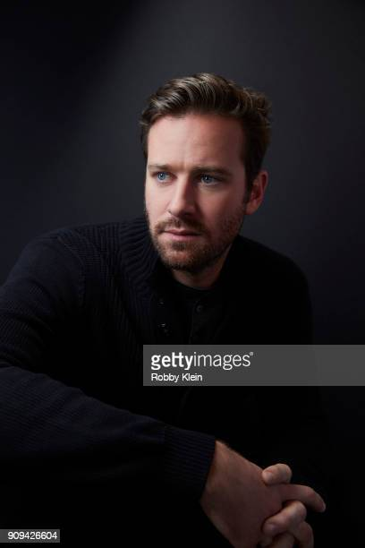 Armie Hammer from the film 'Sorry To Bother You' poses for a portrait at the YouTube x Getty Images Portrait Studio at 2018 Sundance Film Festival on...