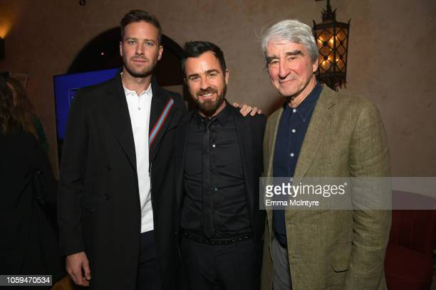 Armie Hammer Justin Theroux and Sam Waterston attend the after party for the Opening Night World Premiere Gala Screening of 'On The Basis Of Sex' at...