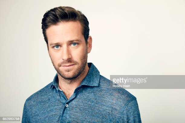 Armie Hammer of Free Fire poses for a portrait at The Wrap and Getty Images SxSW Portrait Studio on March 12 2017 in Austin Texas