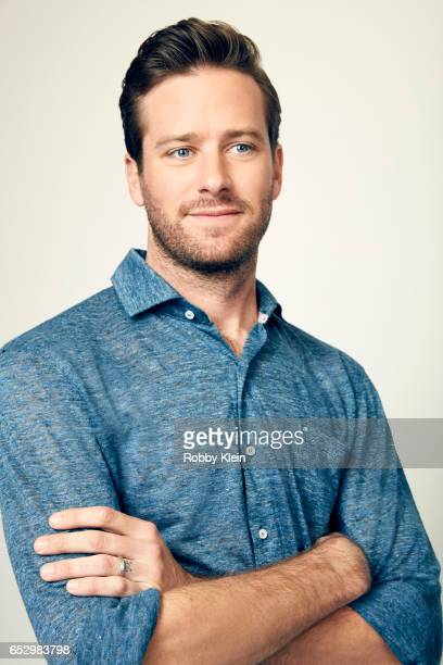 Armie Hammer of 'Free Fire' poses for a portrait at The Wrap and Getty Images SxSW Portrait Studio on March 12 2017 in Austin Texas