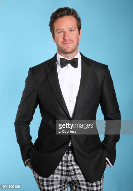 Armie Hammer poses for a portrait during the 2018 American Black Film Festival Honors Awards at The Beverly Hilton Hotel on February 25 2018 in...