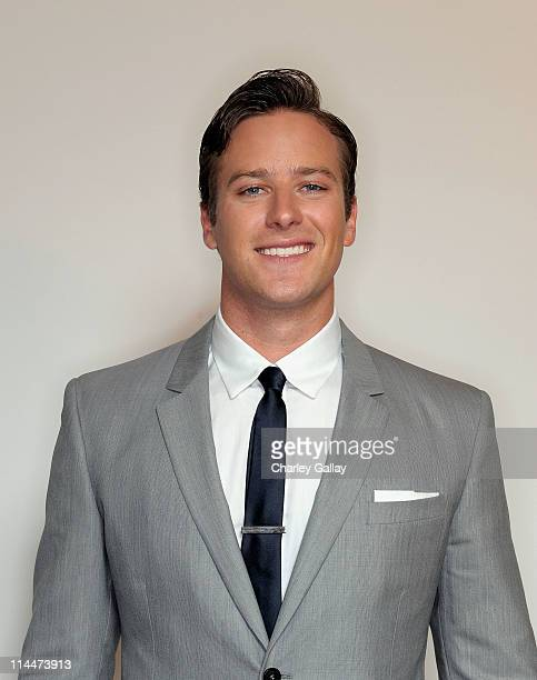 Armie Hammer, recipient of the Male Star of Tomorrow award, poses for a portrait at the 2011 Young Hollywood Awards presented by Bing at Club Nokia...