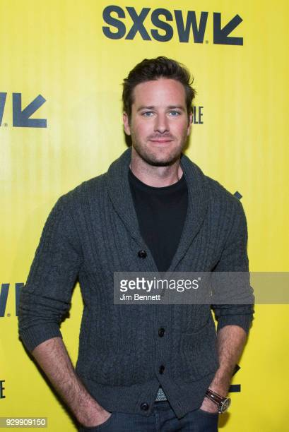 """Armie Hammer walks the red carpet at the SXSW film premiere of """"Final Portrait"""" on March 9, 2018 in Austin, Texas."""