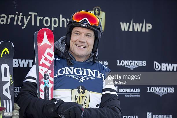 Armin Assinger poses during the KitzCharityTrophy on January 21 2017 in Kitzbuehel Austria